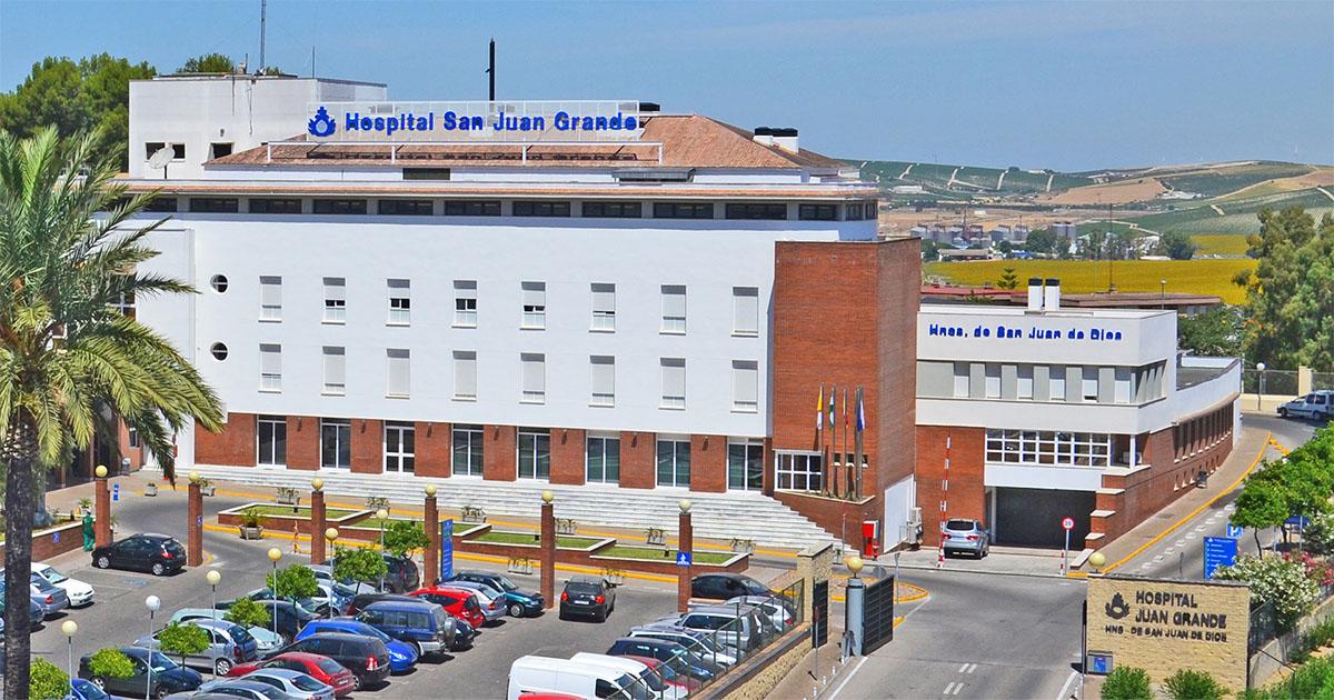 Brote coronavirus hospital san juan grande