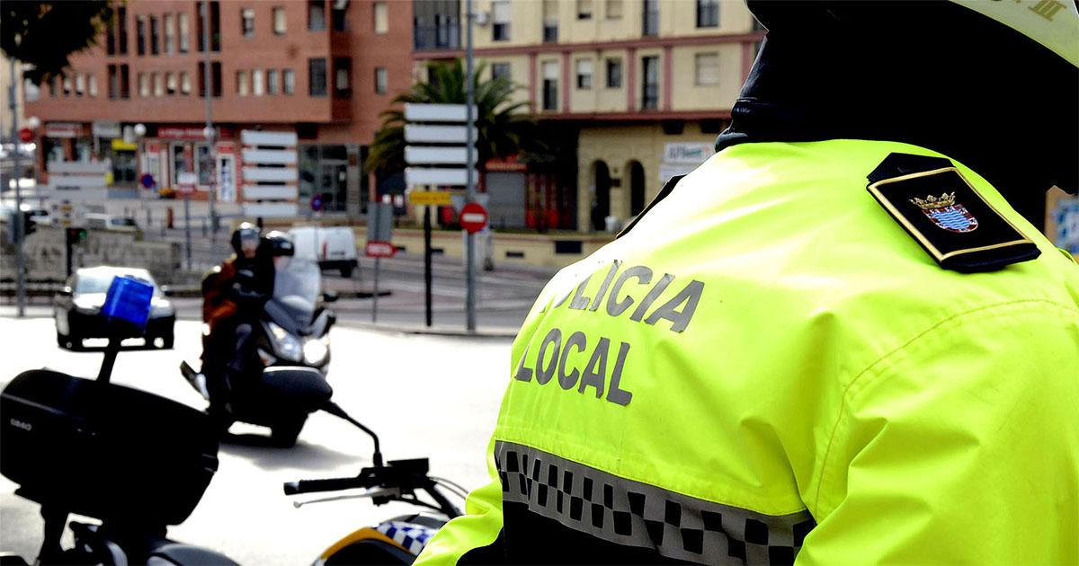Policía local jerez
