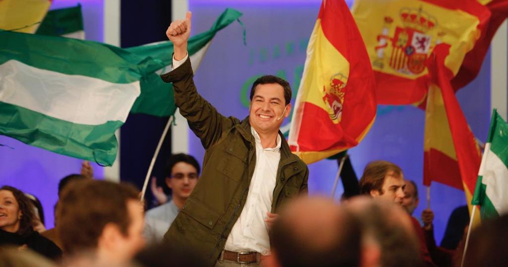 Juanma Moreno Andalucía PP PSOE