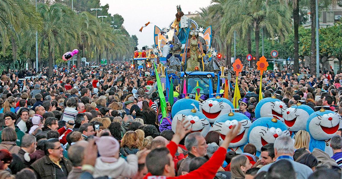 Carrozas De Reyes Magos Fotos.La Cabalgata De Los Reyes Magos Contara Con 15 Carrozas Y