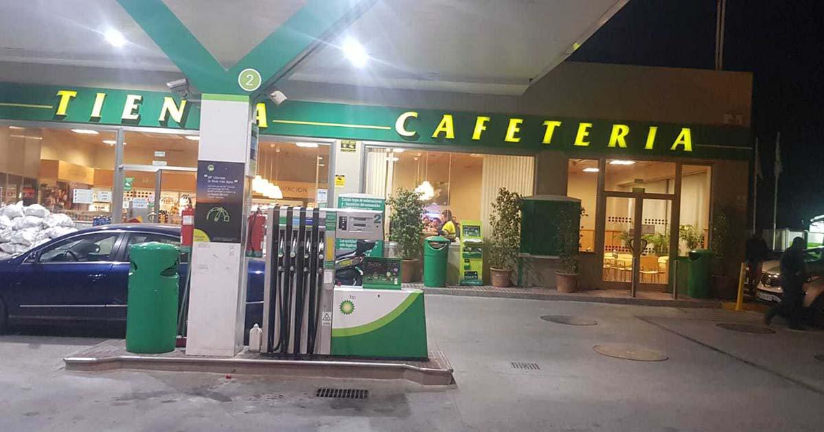 gasolineras Guardia Civil atraco Granada