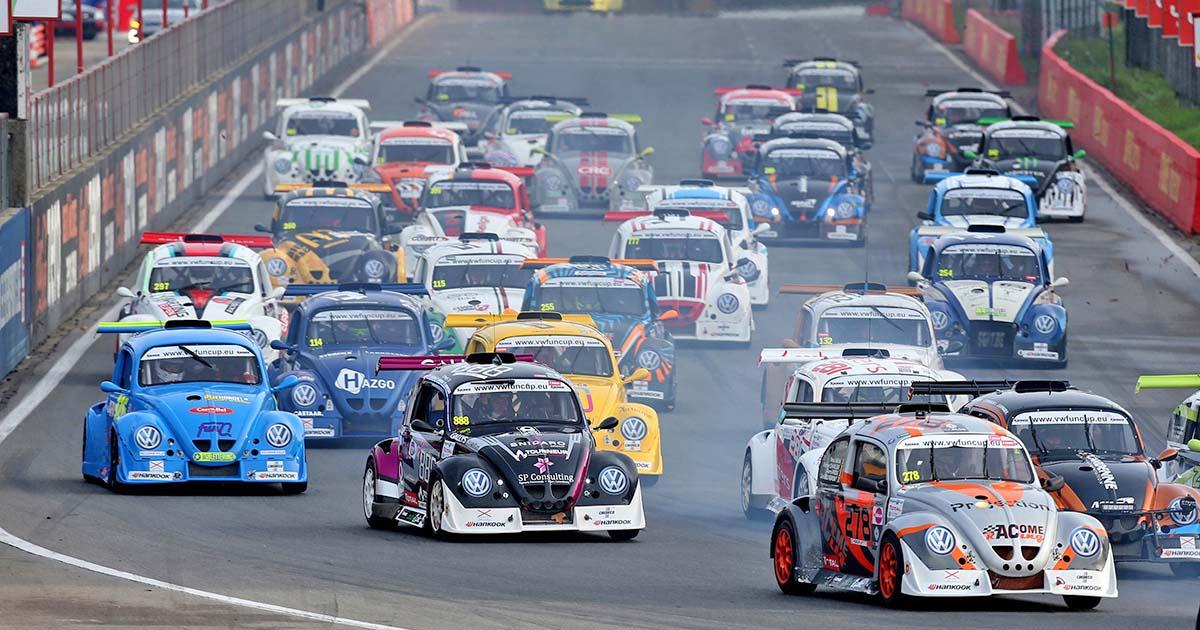 Circuito Jerez : La competición del circuito de jerez comienza con la fun cup race