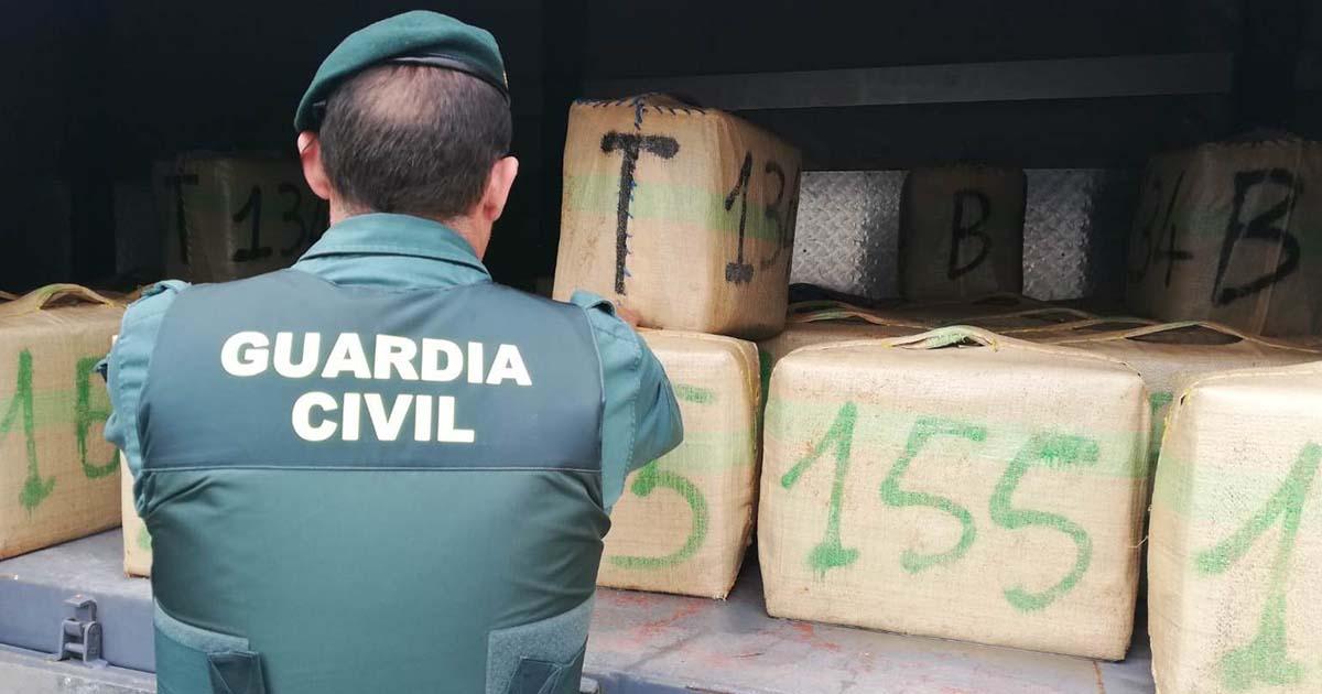 tráfico de drogas Guardia Civil