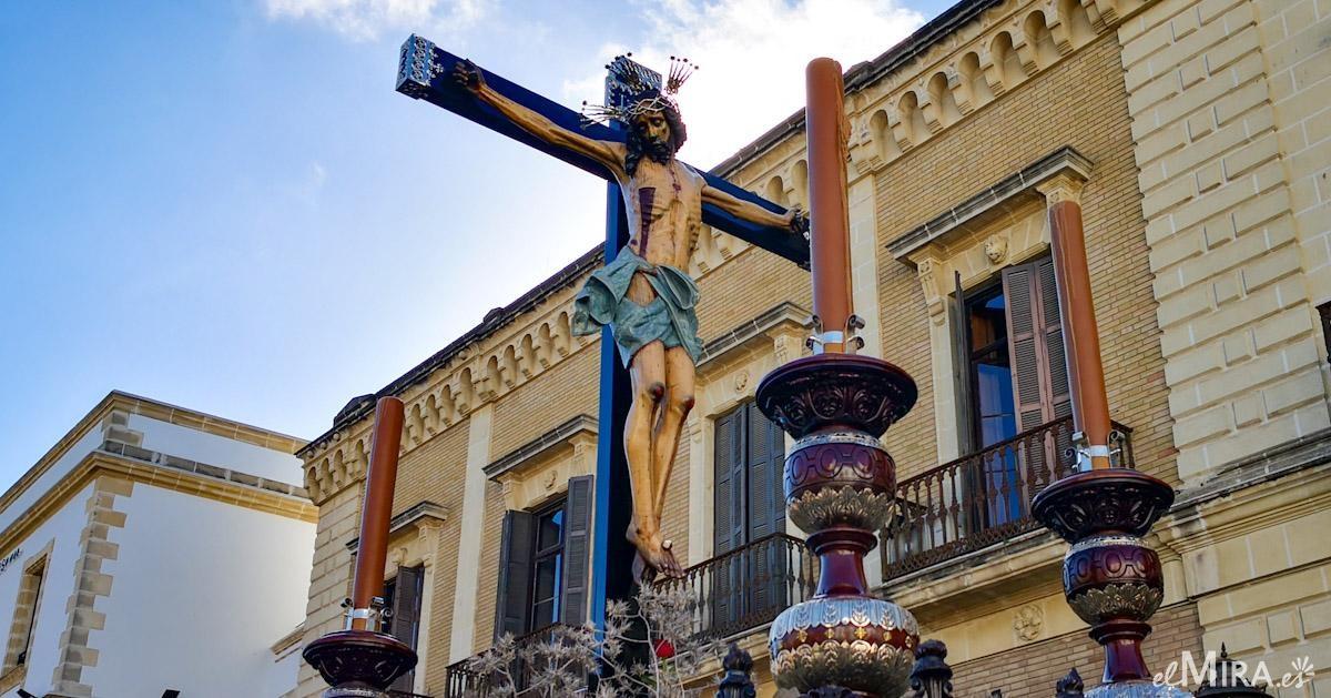 El Cristo de la Viga, imagen del Vía-Crucis 2021 de las Hermandades