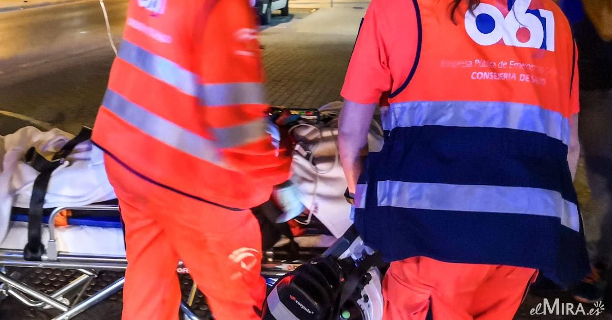 Accidente ambulancia heridos jerez