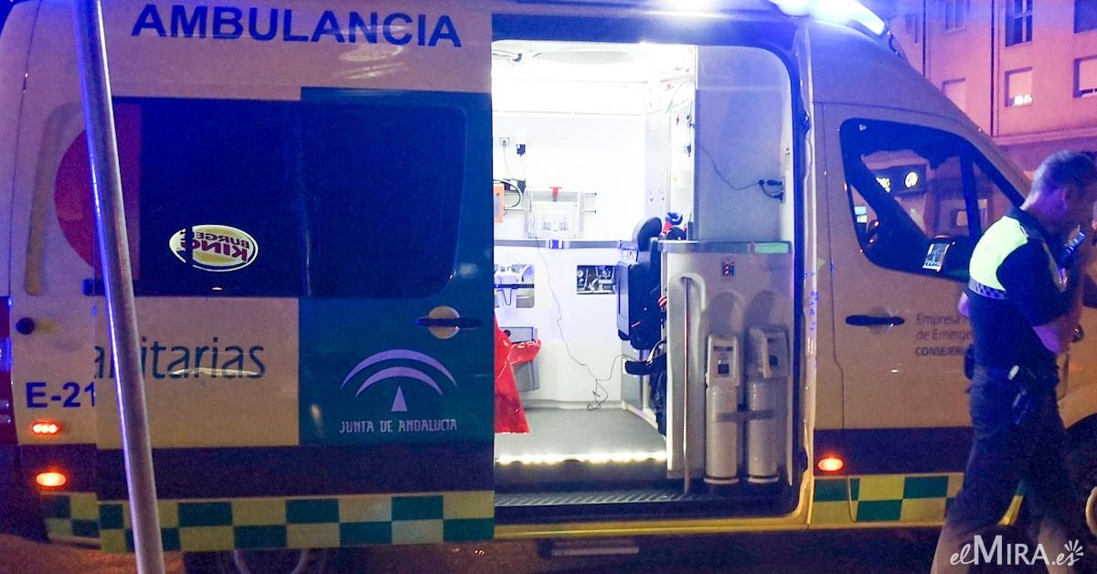 Accidente ambulancia heridos 5 Algeciras