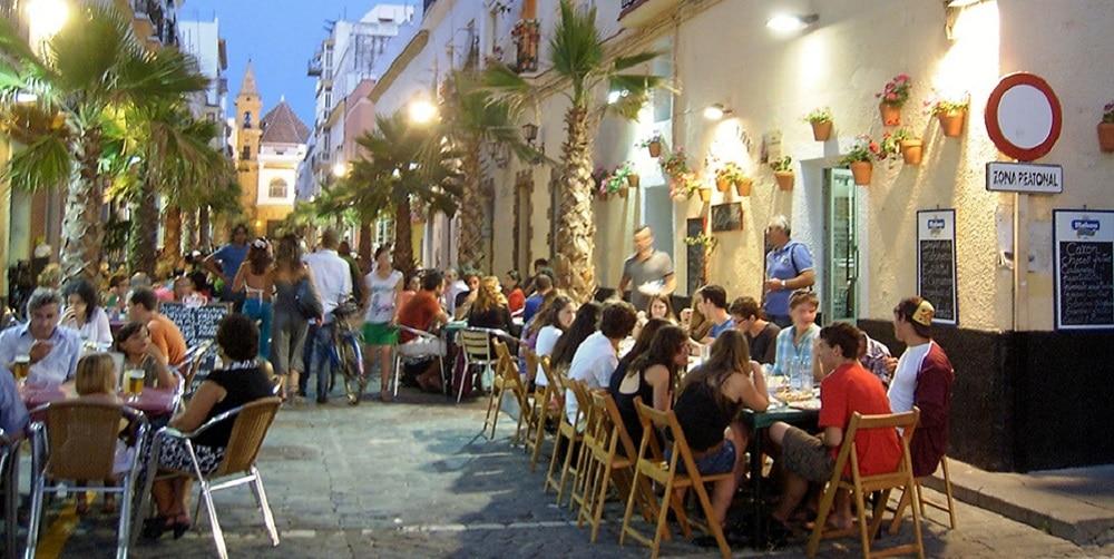 Una Terraza Del Barrio De La Viña Ejemplo De Local Para Los