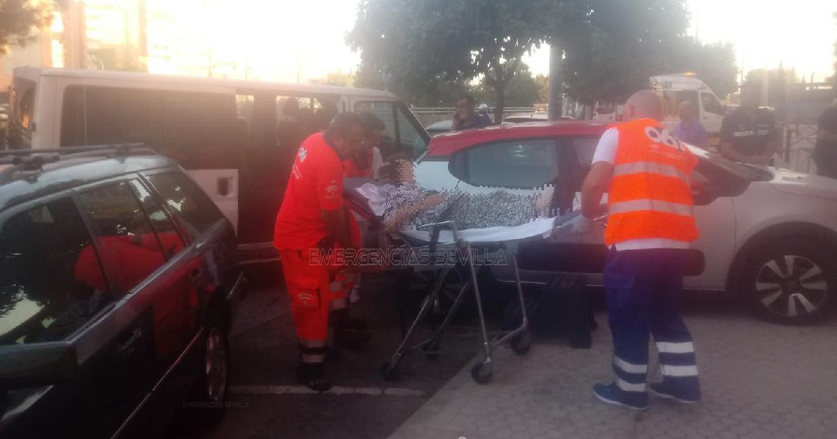 herido un trabajador hombre con un arma de fuego en Mijas