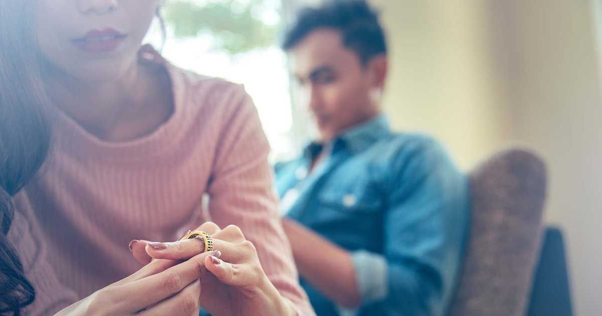 La pandemia provoca una caída de los divorcios y separaciones