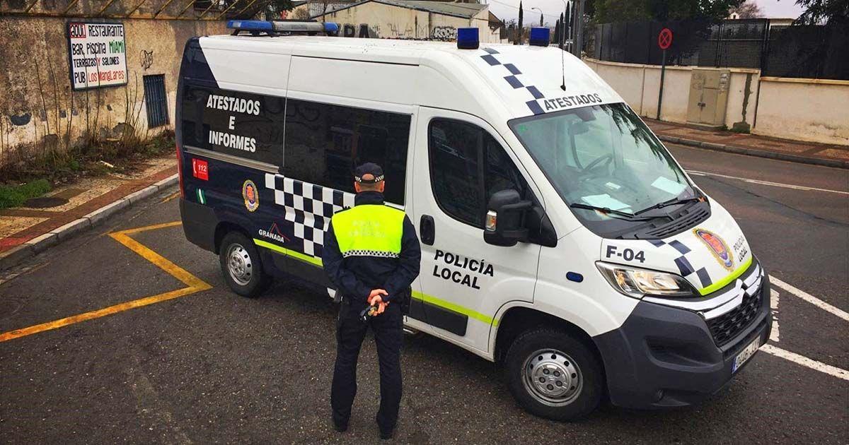 Más de 350 denuncias el sábado por la noche en Granada Policía Local toque de queda