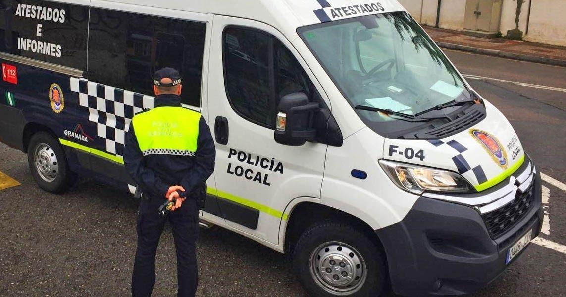 medidas Policía Granada