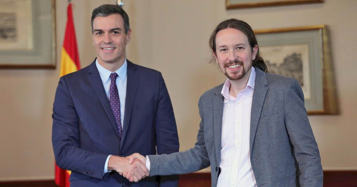 Pedro Sánchez Pablo Iglesias Gobierno