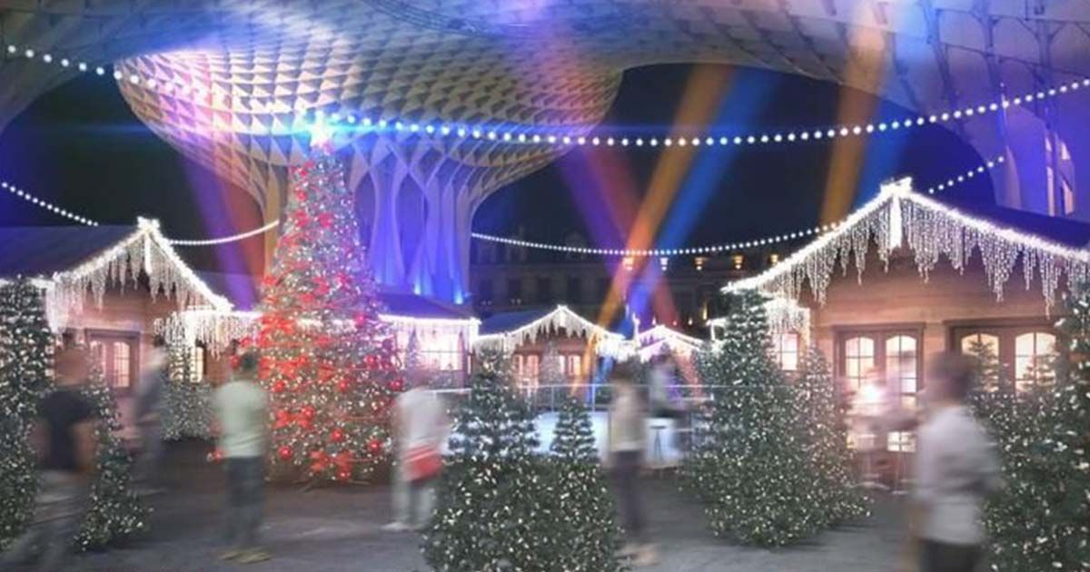 Lapland. Christmas in Seville