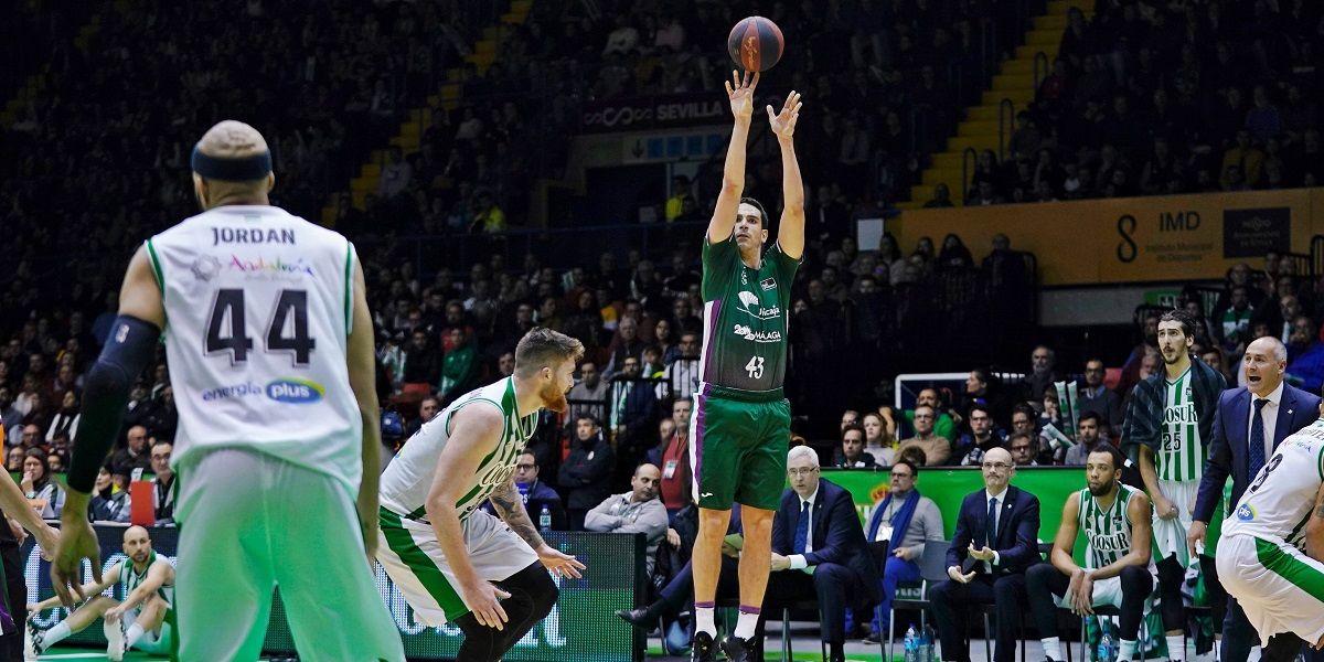 Aplazada la Copa de Andalucía ACB por dos positivos en el Coosur Real Betis