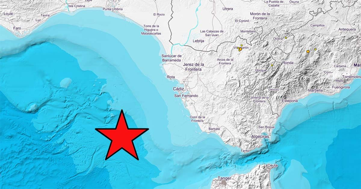 terremotos Golfo Cádiz