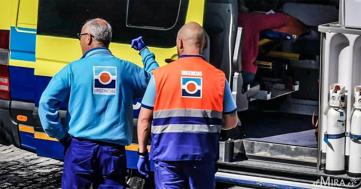 Cuatro heridos en un accidente de tráfico en la AP-7 en Fuengirola