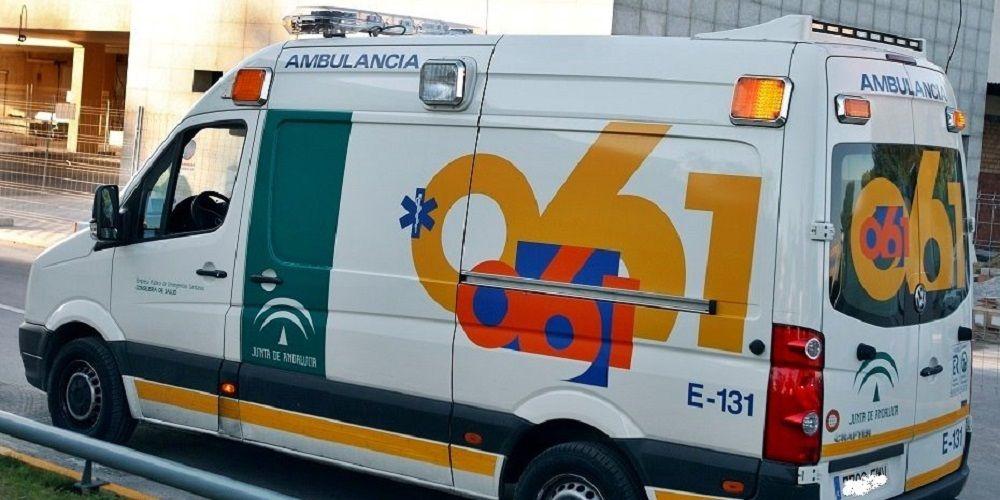 muerto ambulancia, accidente, moto, Málaga