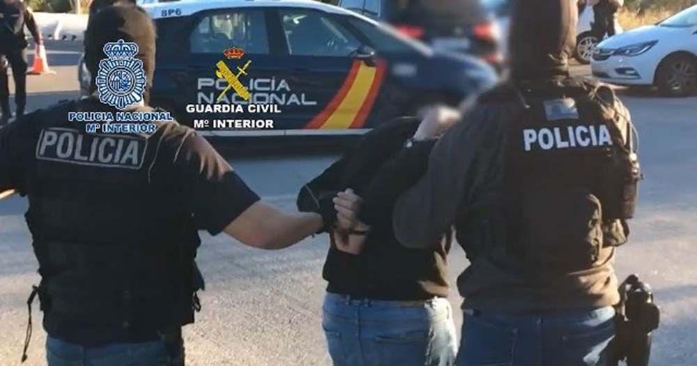 Detienen en Málaga a un fugitivo albanés que enviaba droga a otros países