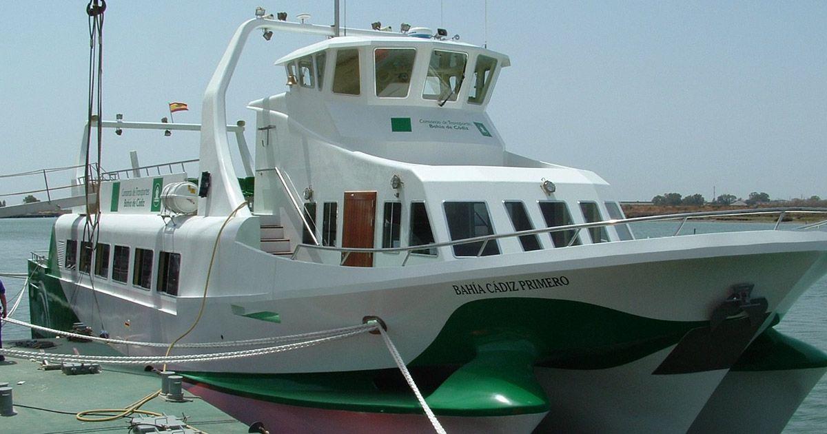 catamarán Bahía Cádiz