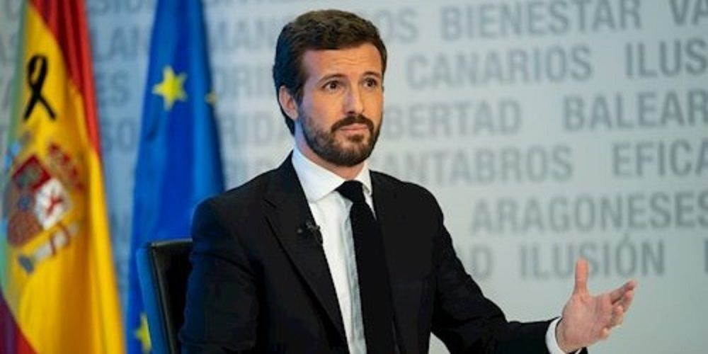 Pablo Casado acusa a Sánchez