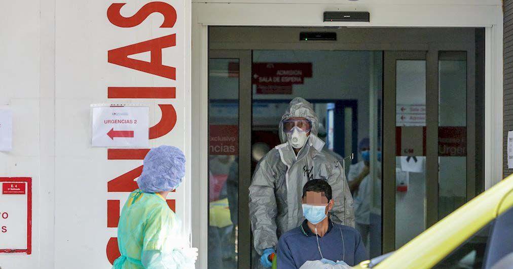 coronavirus andar hospital
