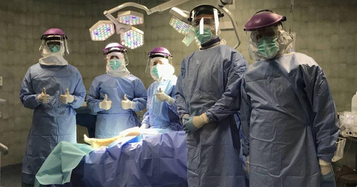 Hospital Virgen Macarena habitaciones Covid-19 cirugía cáncer de tiroides