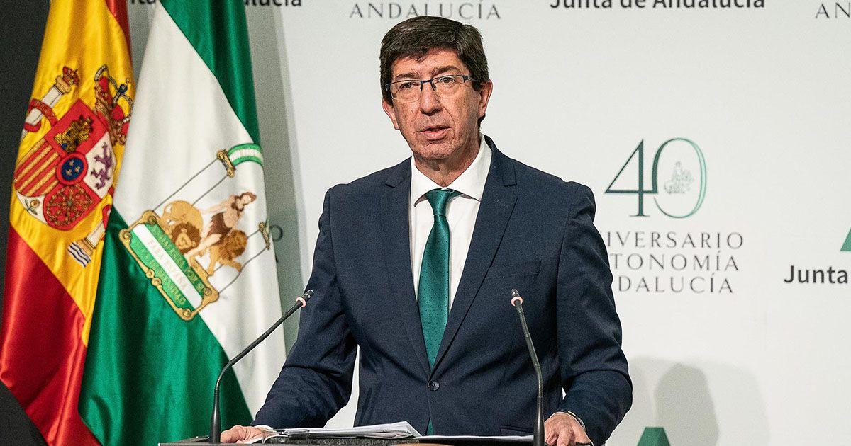 Juan Marín asegura que el Gobierno andaluz agotará la legislatura