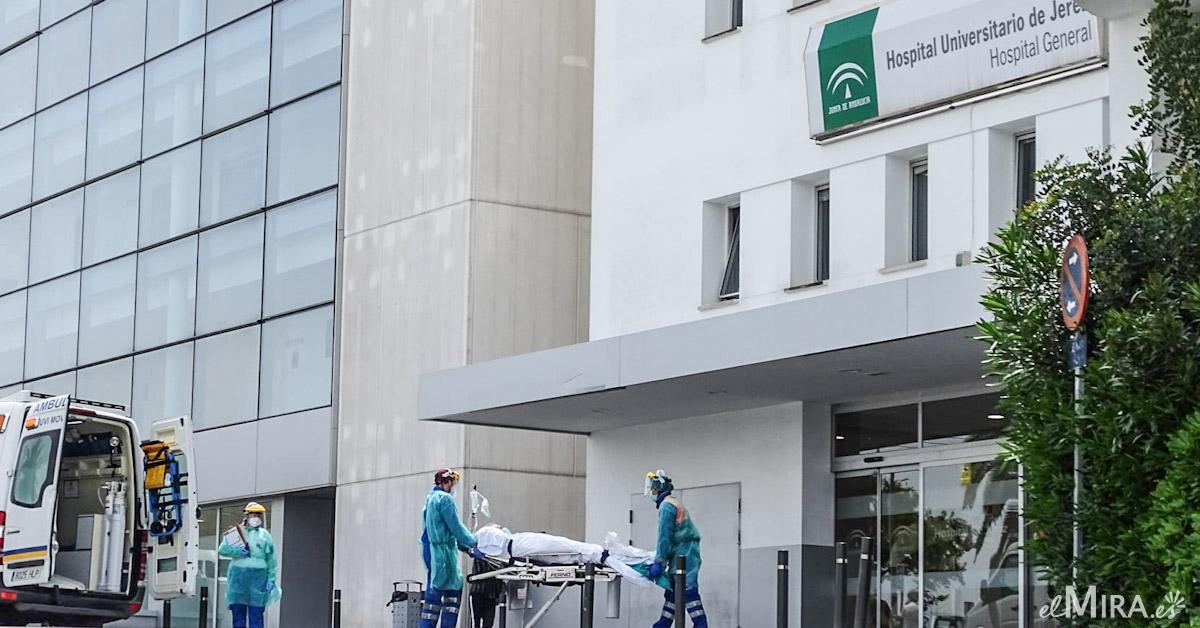 Hospital de Jerez - Coronavirus Covid-19 positivos