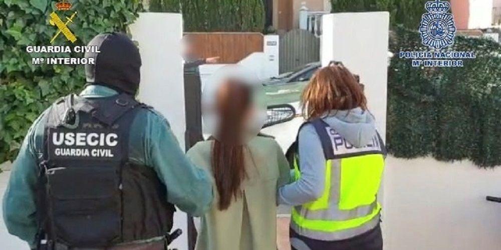 Guardia Civil detiene por robos en Sevilla