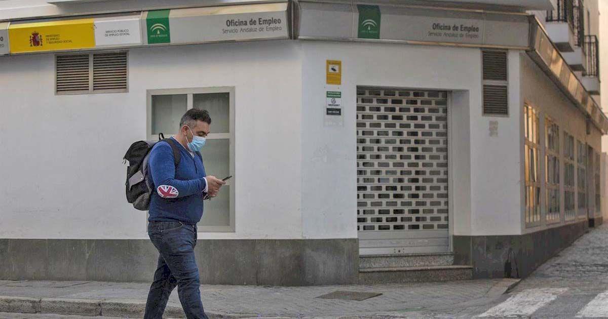 Aumenta el paro en Andalucía