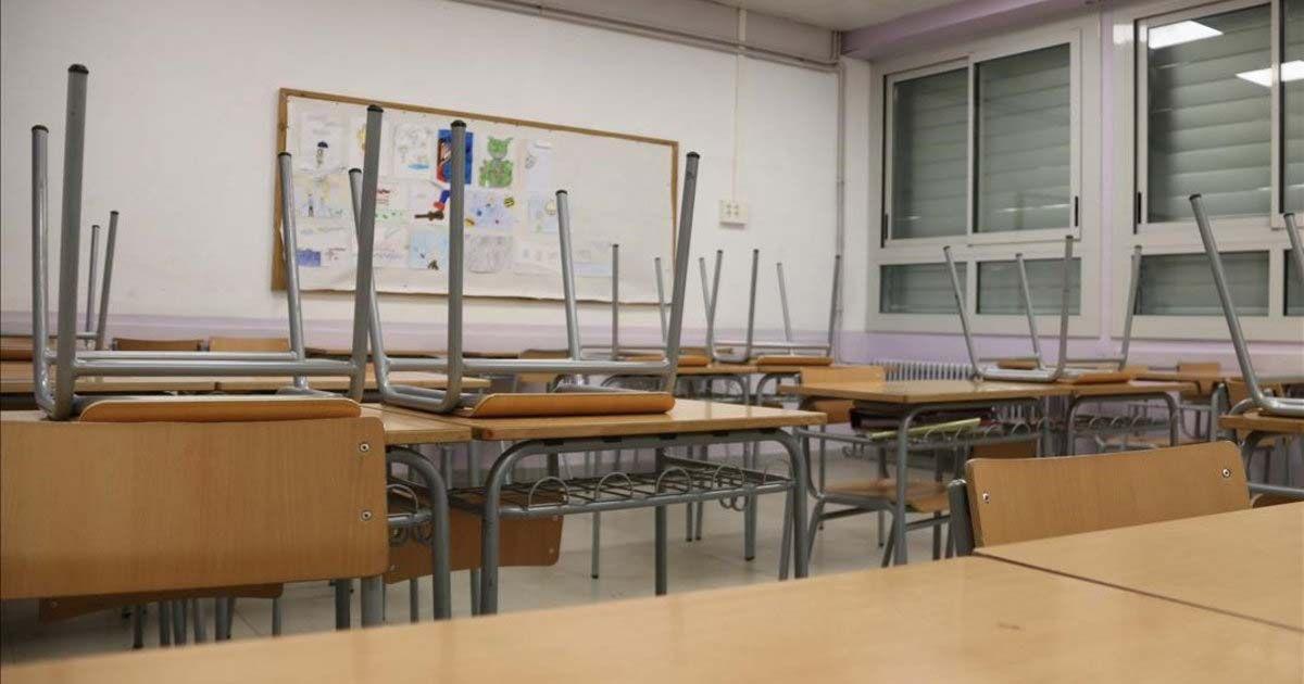 colegios cerrados de Andalucía