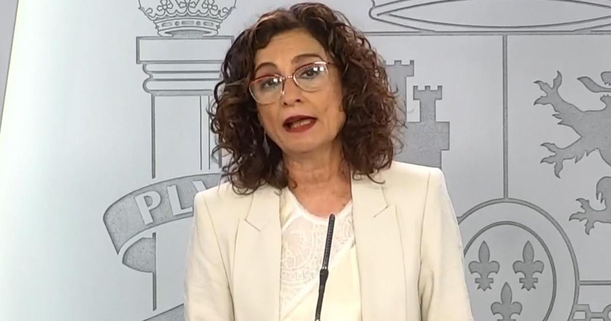 Maria Jesus Montero portavoz de El Gobierno