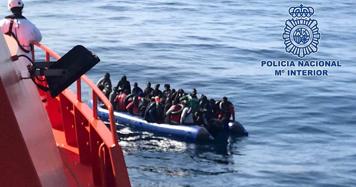 migrantes pateras