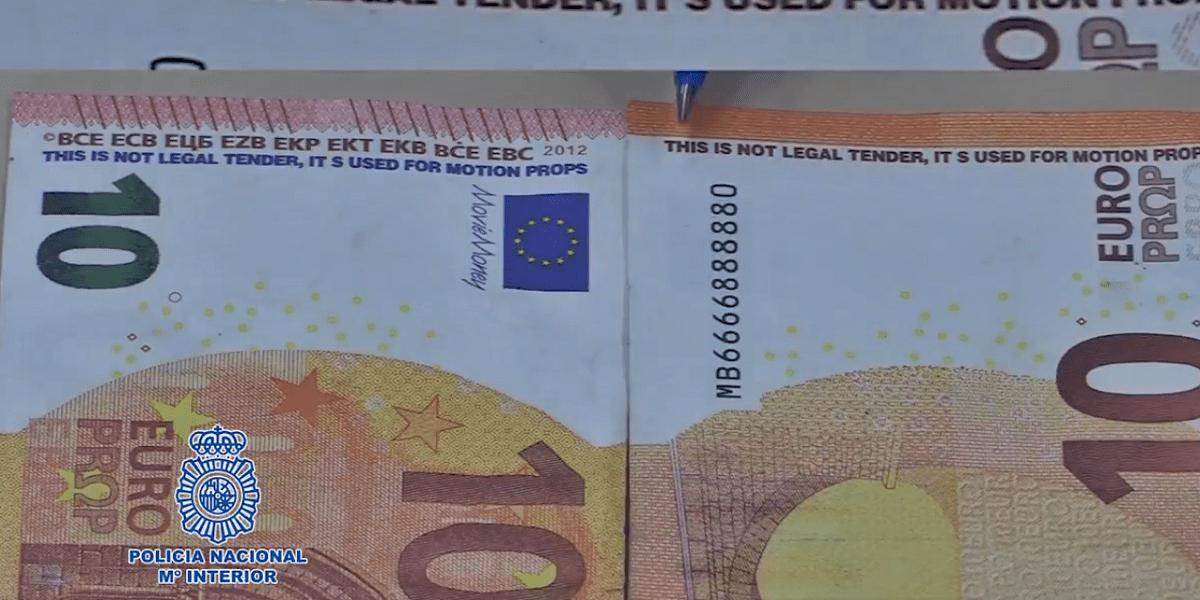 billetes falsos Cádiz