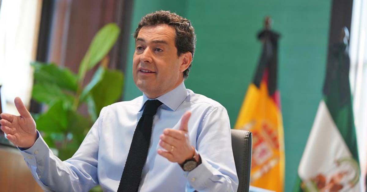 Moreno, sobre las nuevas medidas en Andalucía: