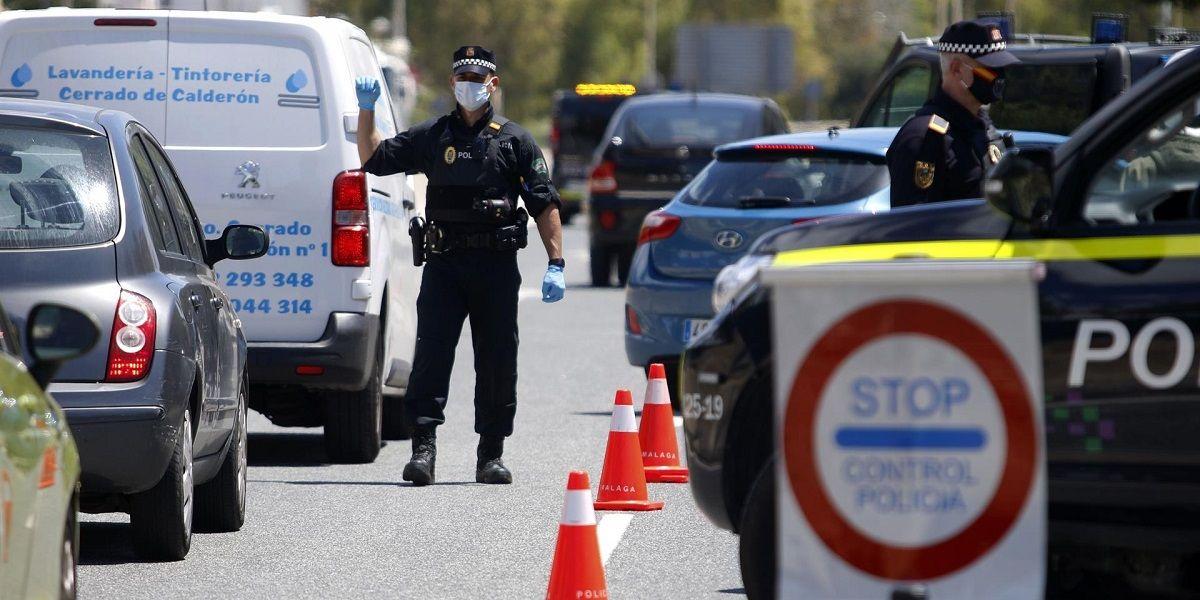 La Policía Local de Málaga vigila a los contagiados por Coronavirus