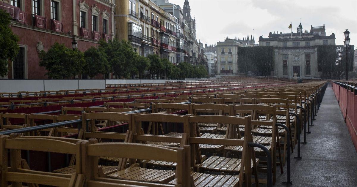 Semana Santa sillas palcos reembolso
