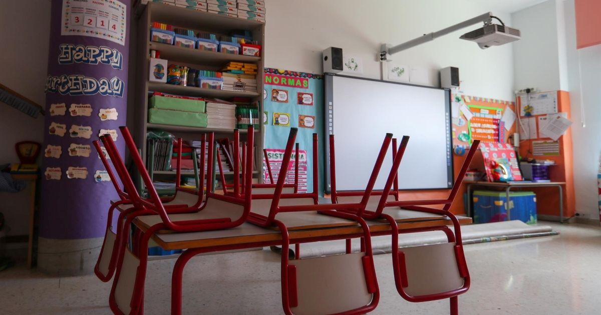 clases escolares afectadas por un caso de Covid en Almería andalucía