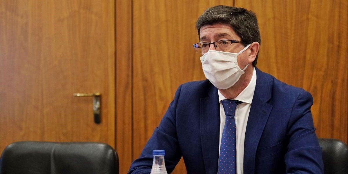 Juan Marín sobre el reparto a Andalucía del Fondo Covid