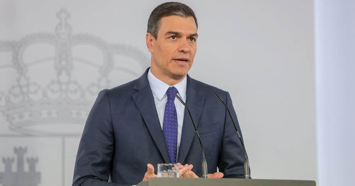 Sánchez habla sobre la sociedad catalana y el procés