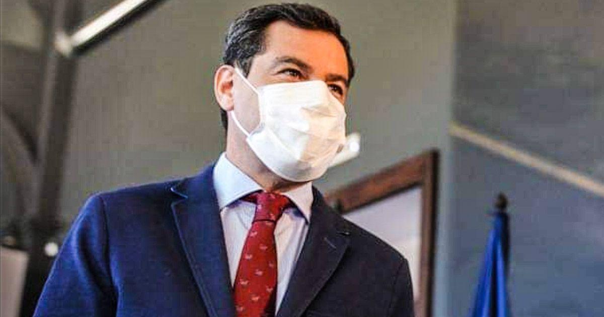 Juanma Moreno restricciones