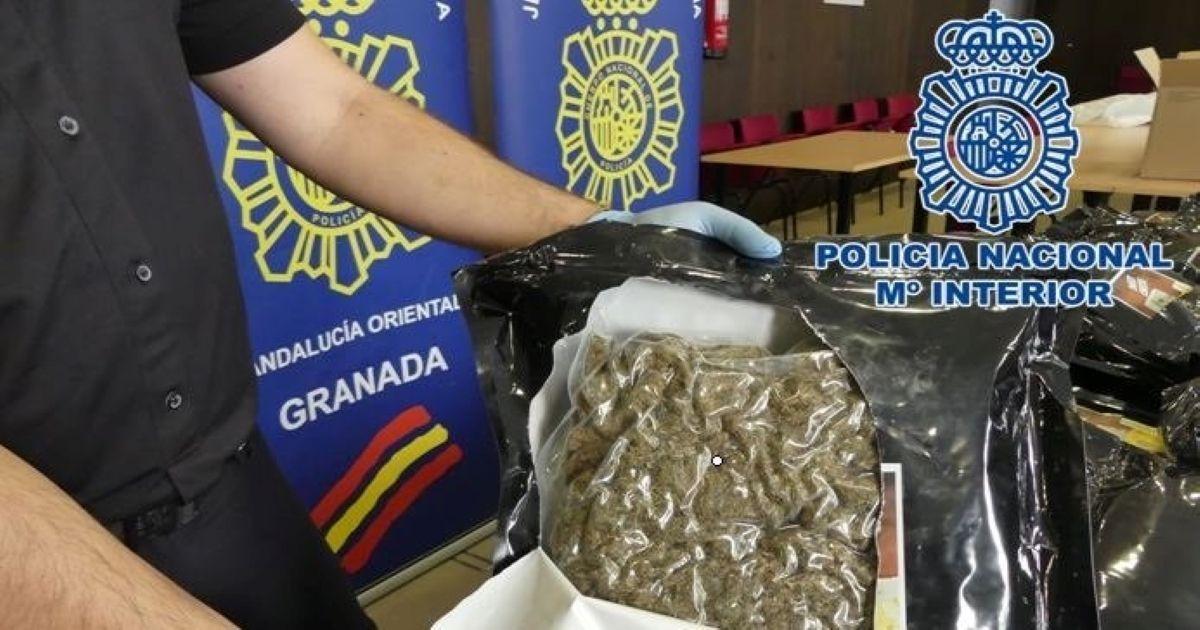 Granada Policía marihuana