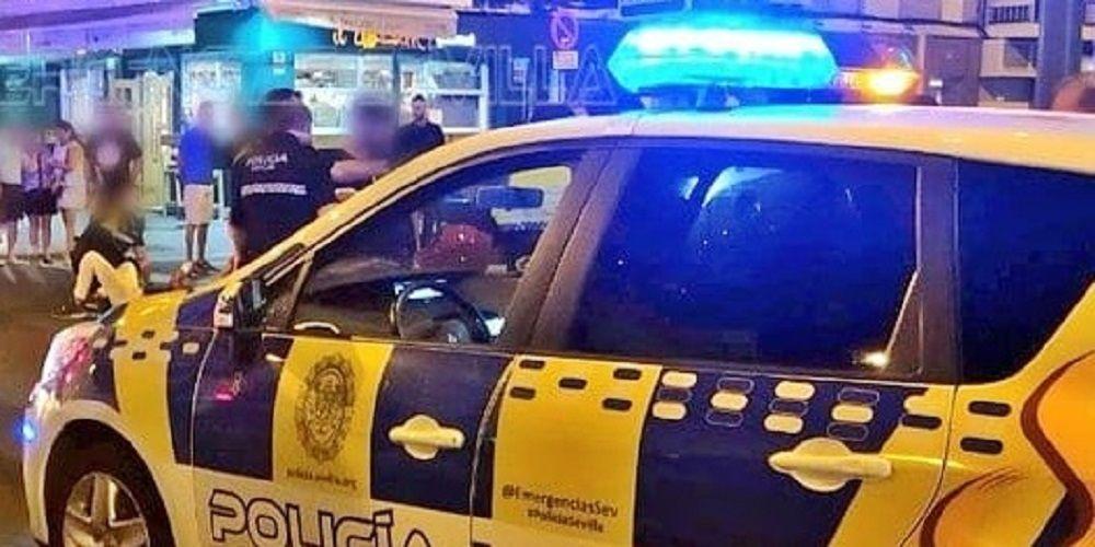 policia local sevilla covid-19