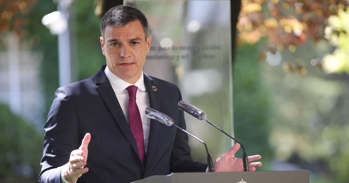 Pedro Sánchez estado alarma