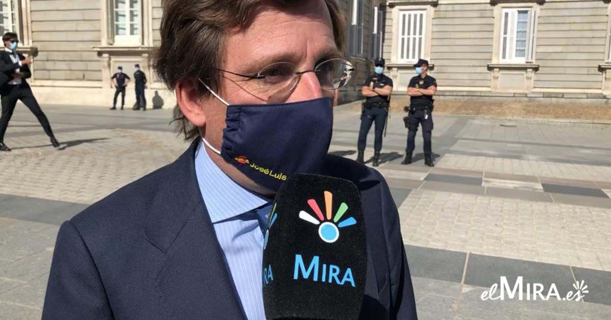 Almeida habla sobre un posible confinamiento de Madrid