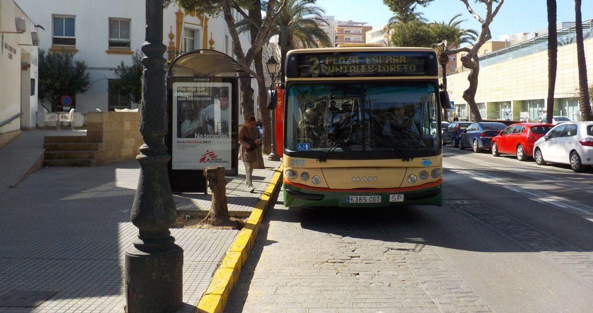 Cádiz falta autobuses urbanos Coronavirus horario
