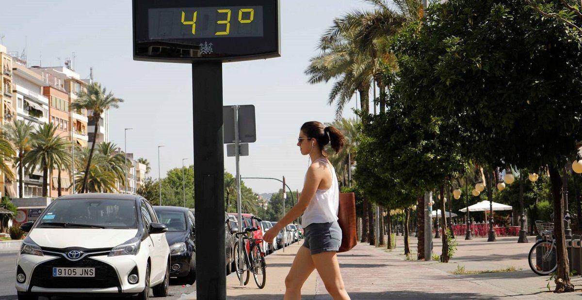 Altas temperaturas calor