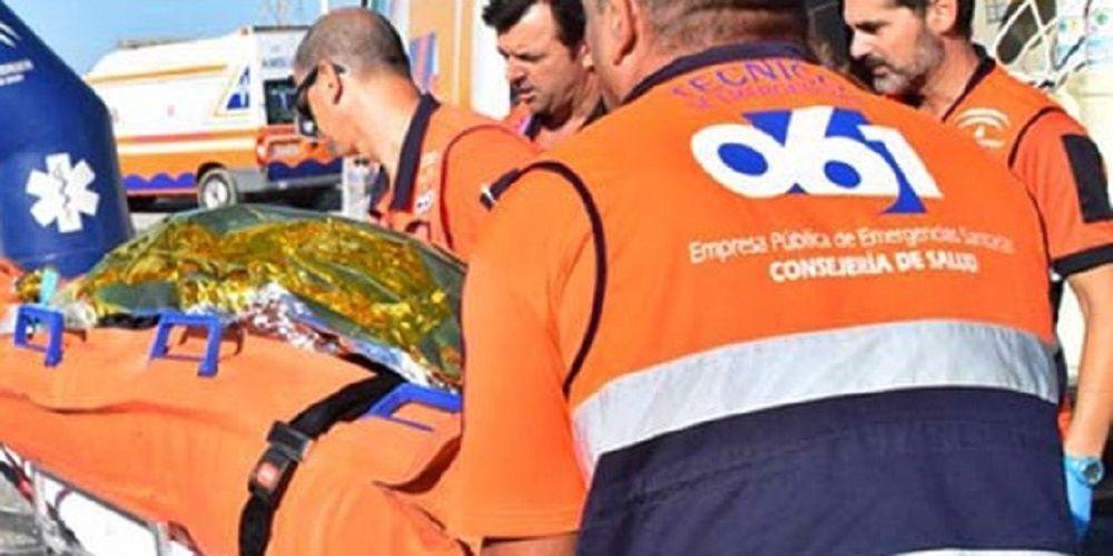 Cuatro heridos en un accidente de tráfico en la AP-7 en Fuengirola sevilla