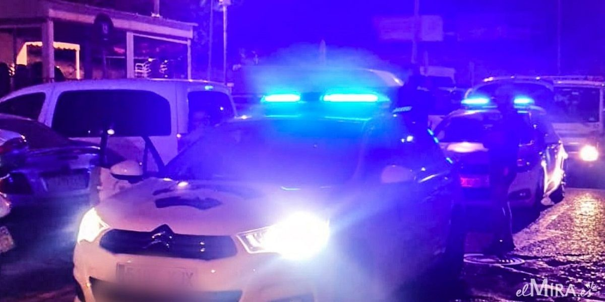 Policía Local coche carril bici Jerez