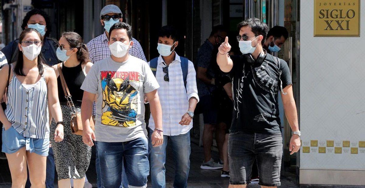 mascarilla obligatoria Cádiz denuncias Coronavirus